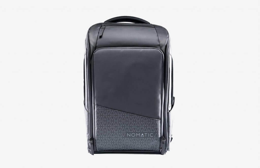 NOMATIC Backpack Slim Black Water-Resistant Anti-Theft 20L Laptop Bag
