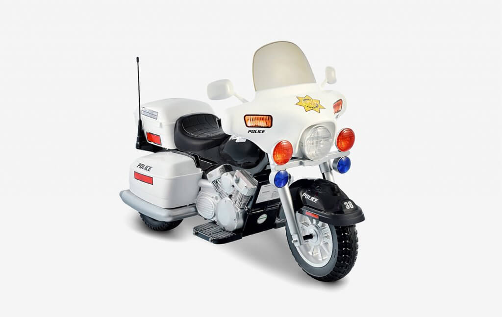 National Products Police Motorcycle
