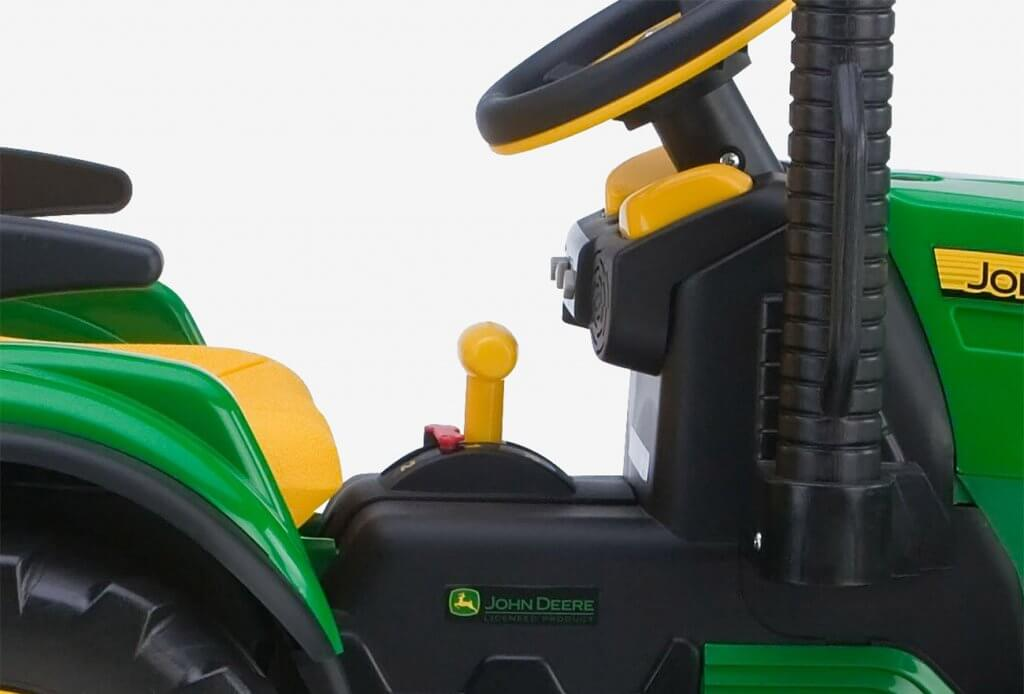 Transmission of the Peg Perego John Deere Ground Force Tractor