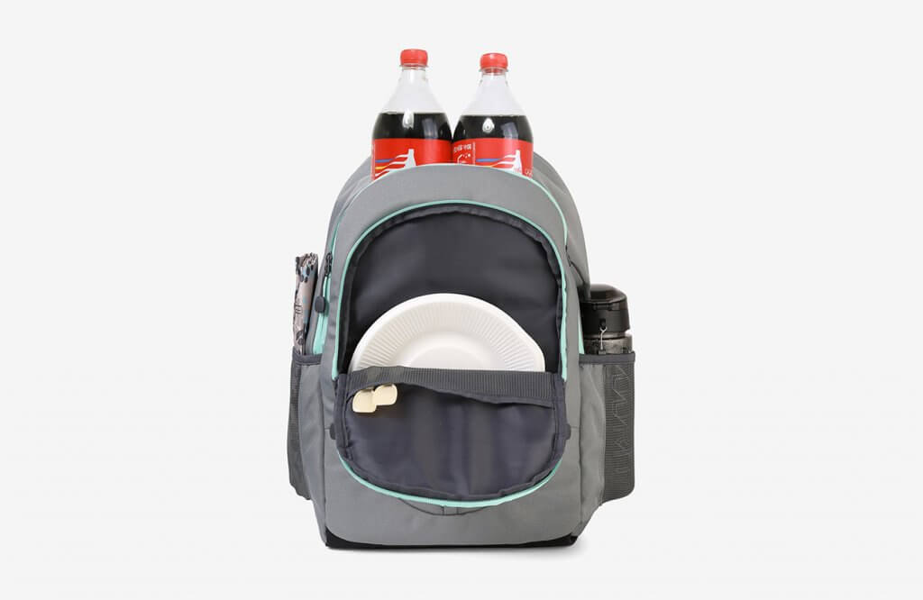 TOURIT Insulated Backpack Cooler fitting two big soda bottles