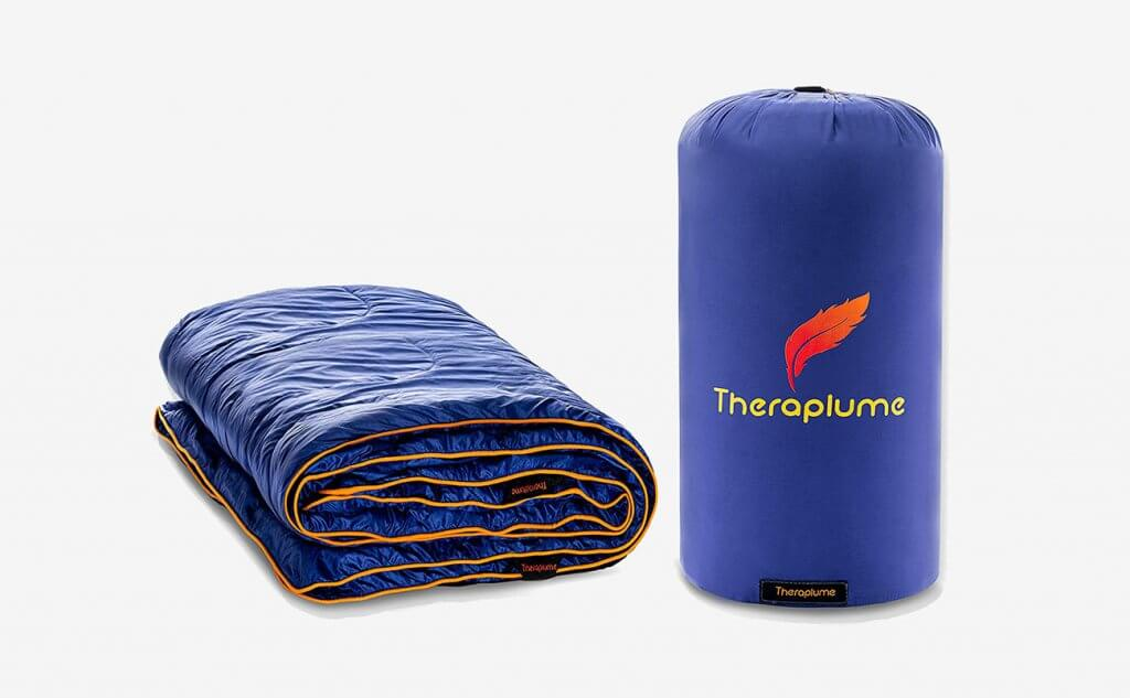 Theraplume Camping Blanket and bag