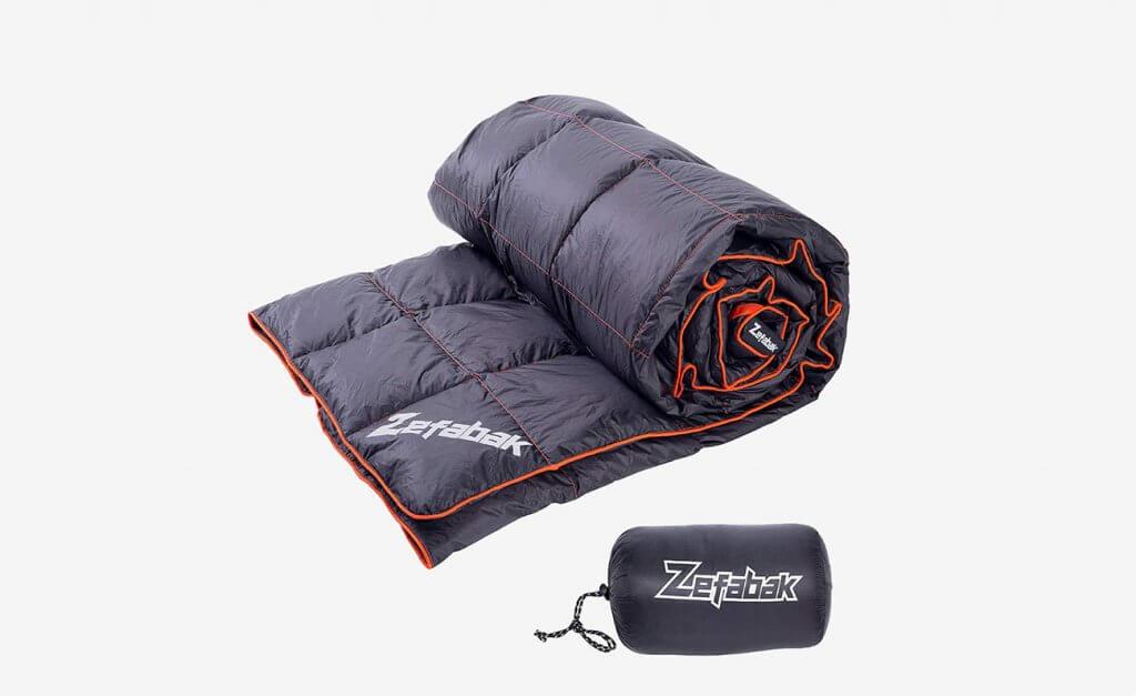 Zefabak Camping Down Blanket