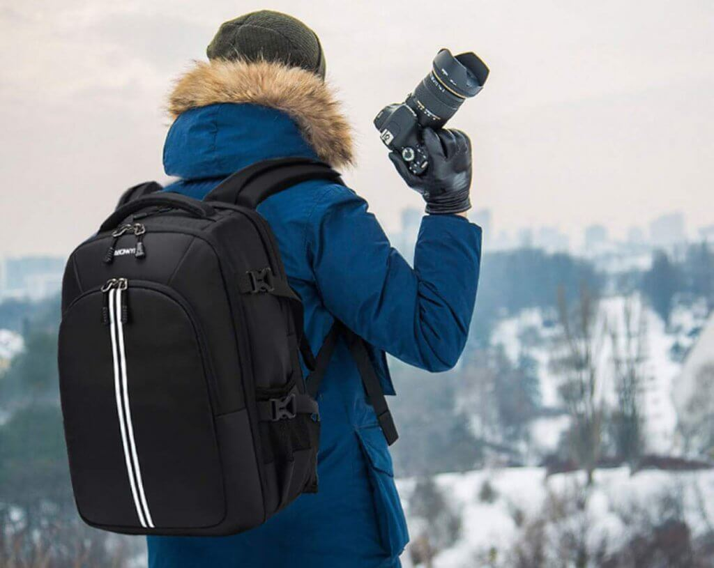 Abonnyc Camera Backpack Fit 2 outdoors
