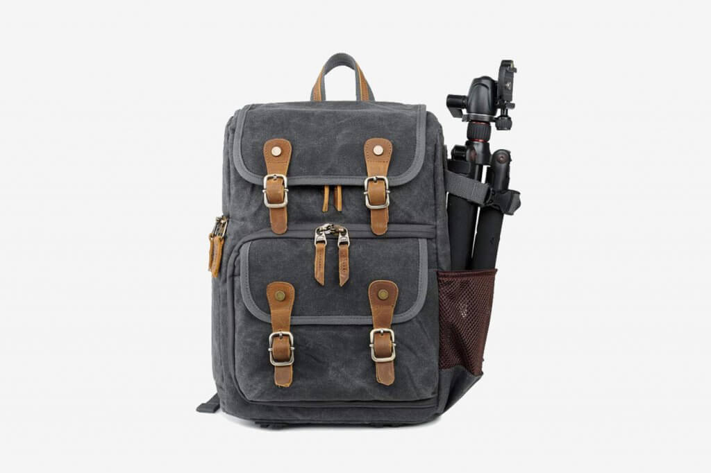 Abonnyc Vintage DSLR Backpack