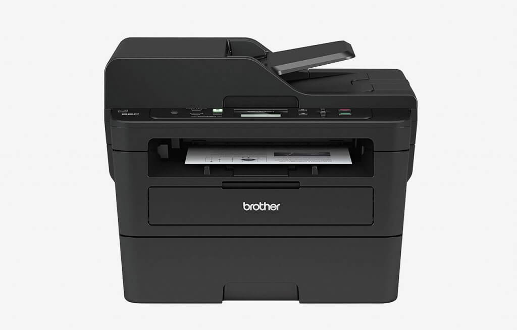Brother DCPL2550DW Monochrome Laser Printer, Compact Multifunction Printer, and Copier