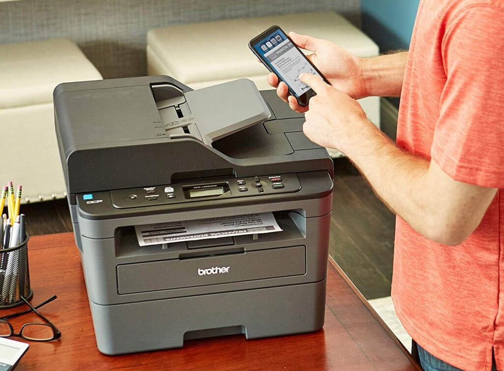 Brother DCPL2550DW and smartphone app