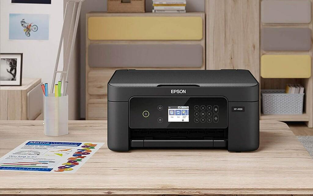 Epson Expression Home XP-4100 in the office