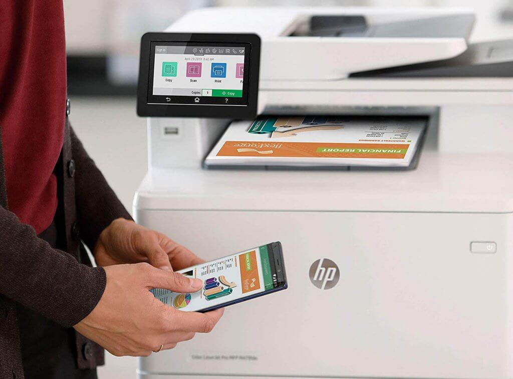 HP Color LaserJet Pro Multifunction M479fdw