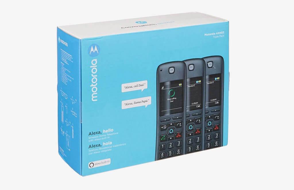 Motorola AXH03 box
