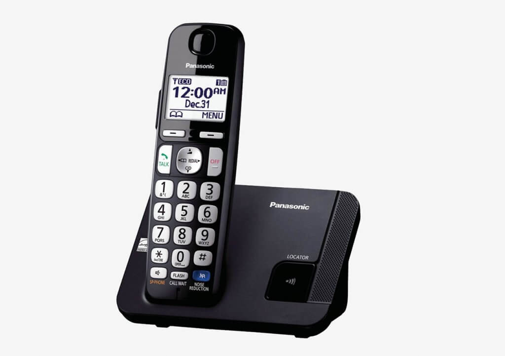 Panasonic KX-TGE210B Amplified Cordless Phone