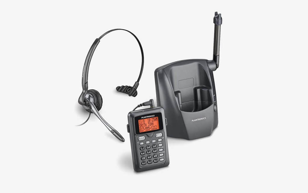 Plantronics 80057-11 CT14 Cordless Headset Phone