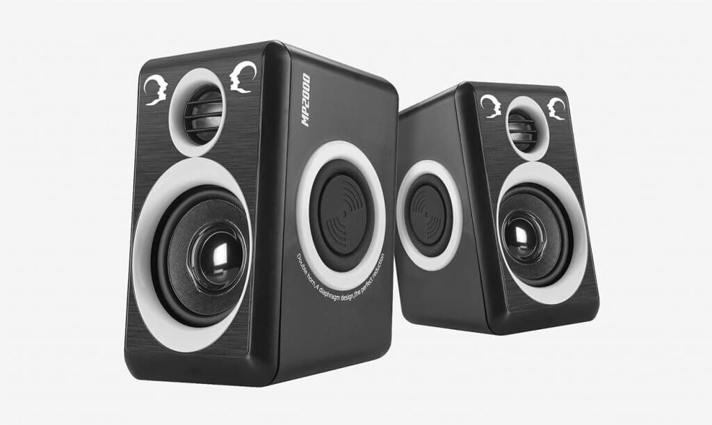 RECCAZR MP2000 Computer Speakers with Surround Sound