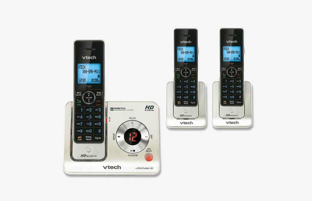 VTech LS6425-3 Cordless Phones With Base
