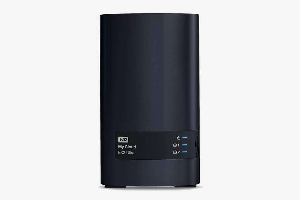 WD 8TB My Cloud EX2 Ultra Network Attached Storage - NAS - WDBVBZ0080JCH-NESN