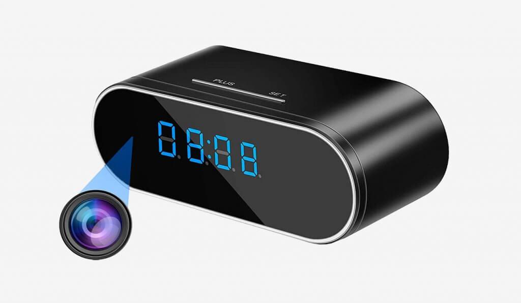 WEMLB WB-726 HD 1080P WiFi Hidden Camera Alarm Clock