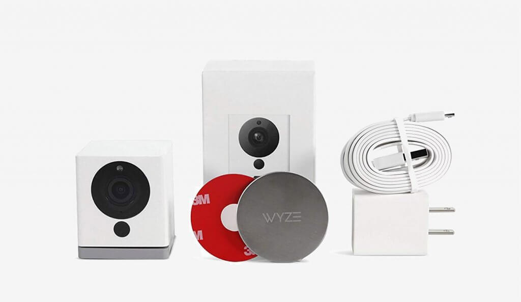 Wyze Cam 1080p HD and accessories