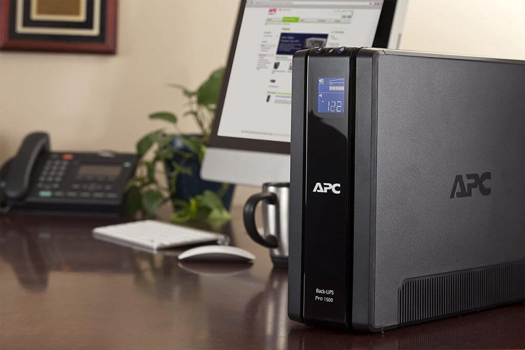 APC 1500VA BR1500G UPS Battery Backup & Surge Protector