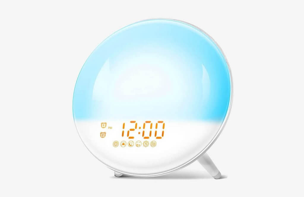 FIMITECH Wake Up Light Sunrise Alarm Clock