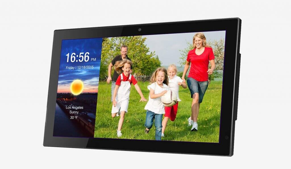 Good Boy SG_B0721ZTL1P 19-inch Smart WiFi Cloud Digital Photo Frame With Camera