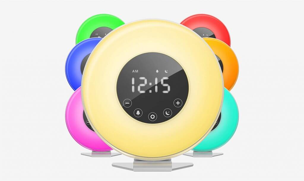 HomeLabs 4330349651 Sunrise Alarm Clock