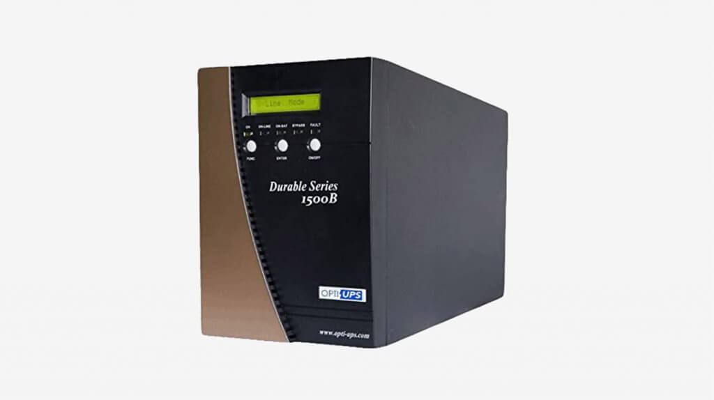 OPTI-UPS DS1500B (1500VA1050W) Online Double Conversion Sinewave