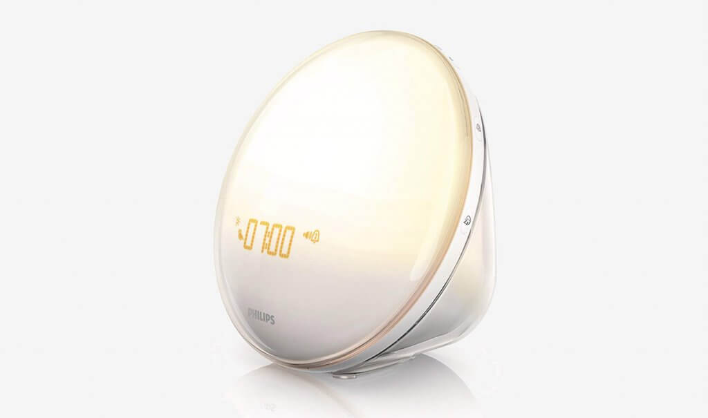 Philips HF352060 Wake-Up Light Therapy Alarm Clock