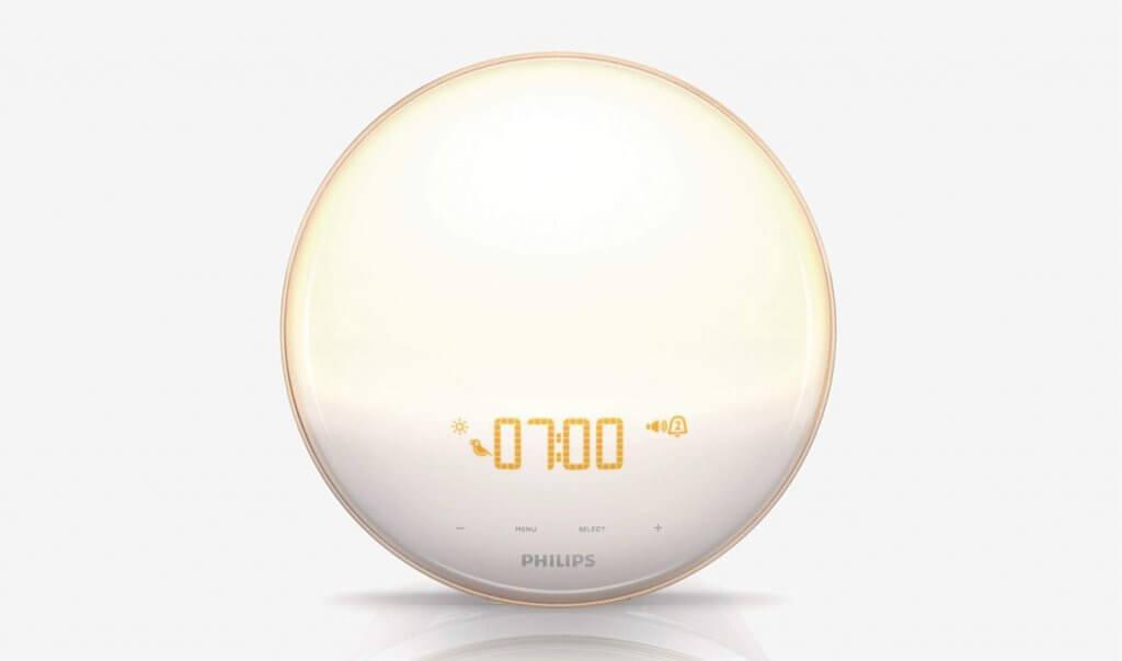 Philips HF352060 Wake-Up Light Therapy Alarm Clock