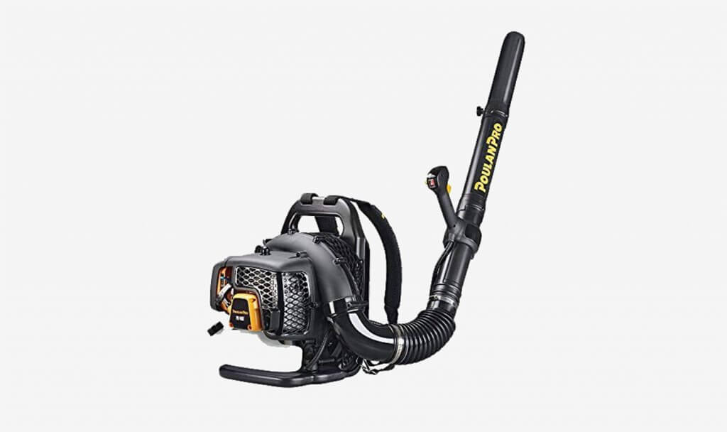 Poulan Pro PR48BT, 2-Cycle Gas-Powered Backpack Leaf Blower