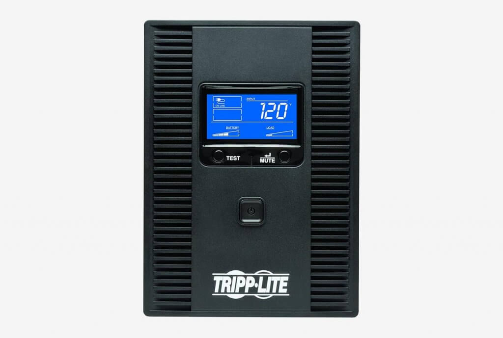 Tripp Lite SMART1500LCDT 1500VA 900W UPS Battery Back-Up