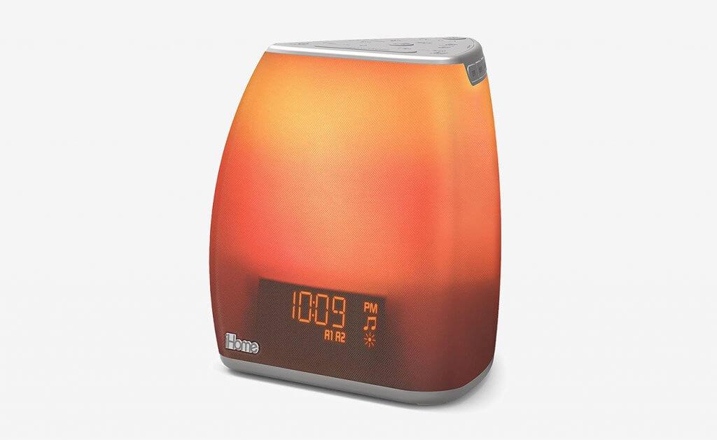 iHome Zenergy Bedside Sleep Therapy Machine And Sunlight Alarm Clock