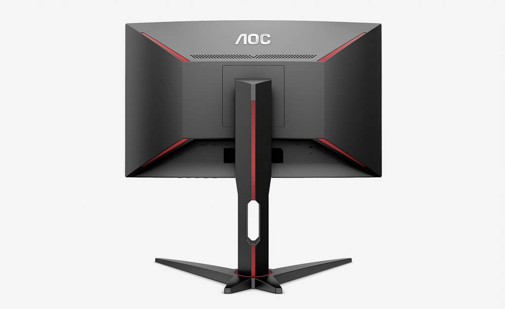 AOC C24G1 24 Curved Frameless Gaming Monitor back