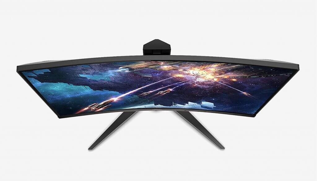 AOC C24G1 24 Curved Frameless Gaming Monitor top