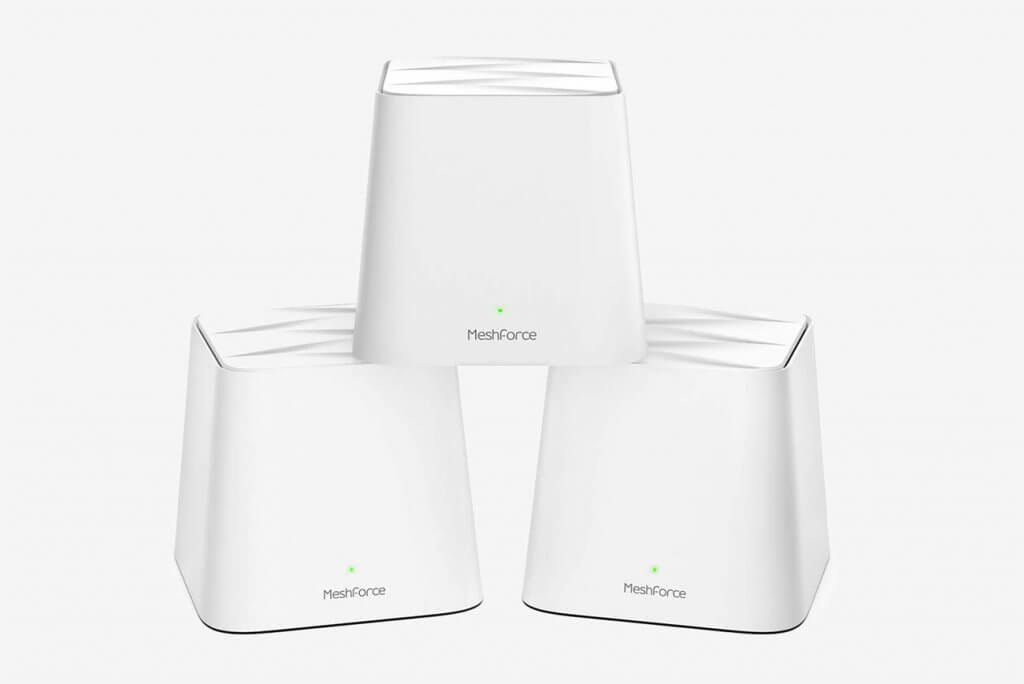 Meshforce M1 Whole Home Mesh Wi-Fi System, 3 Pack