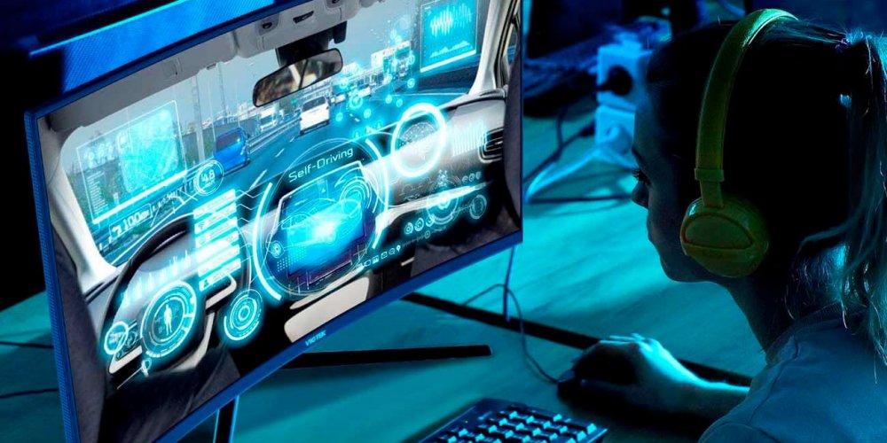 Gaming Monitor and setup