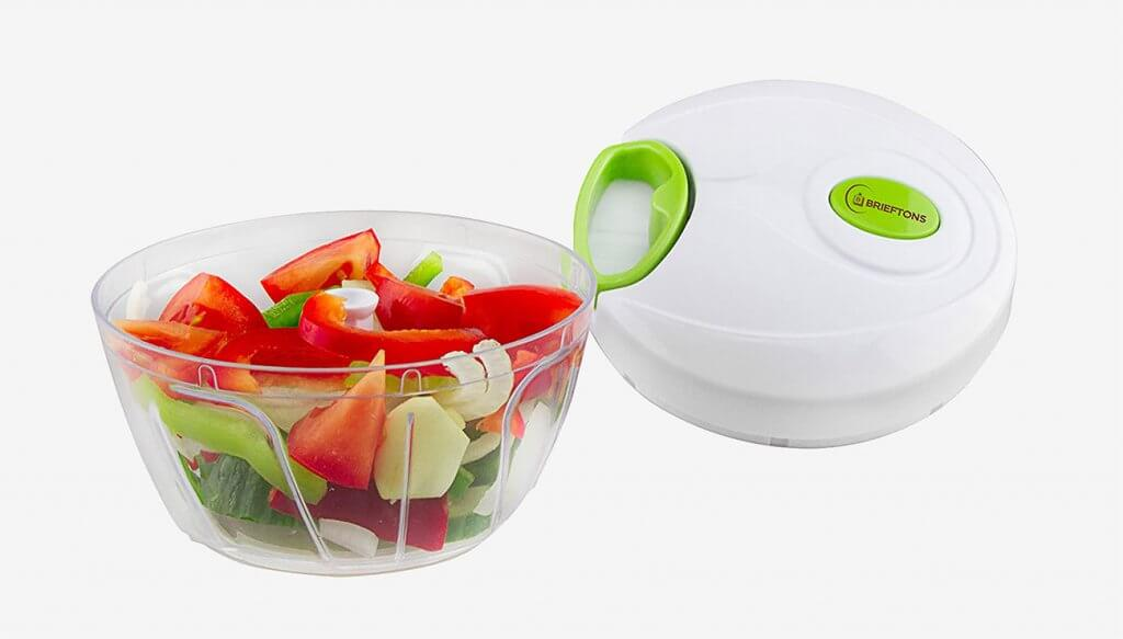 Brieftons Manual Hand Held Vegetable Chopper