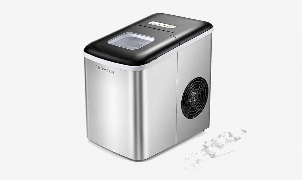 Crownful CF-IM01 Ice Maker Machine for Countertop