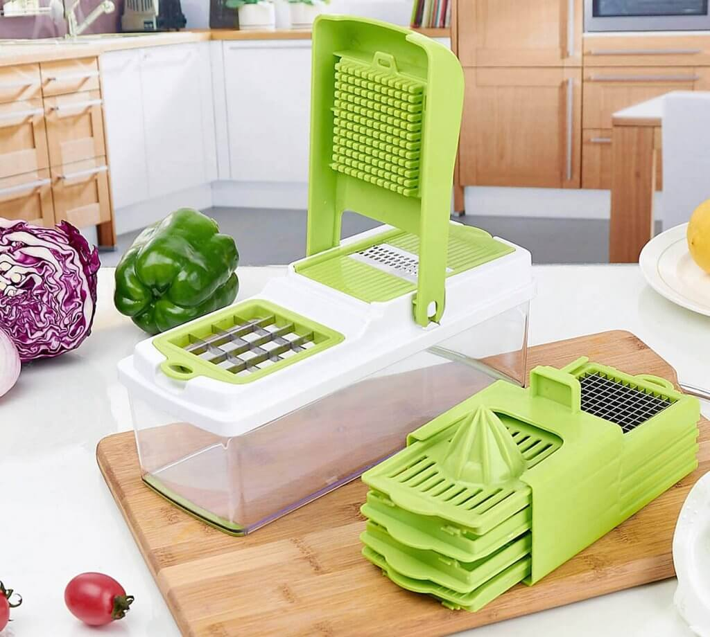 ONSON Food Chopper And Vegetable Slicer in the kitchen