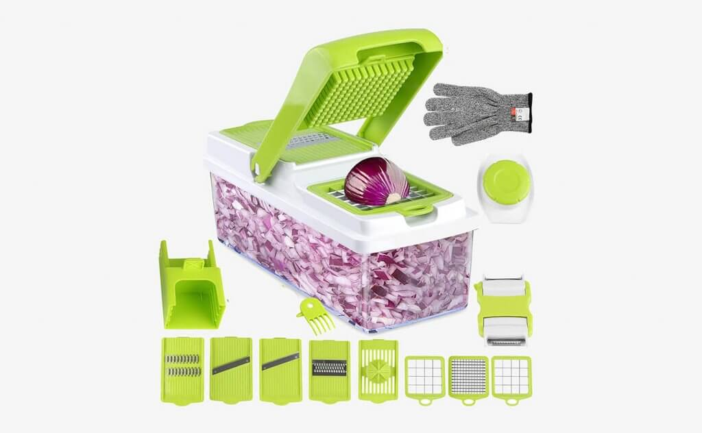 ONSON Food Chopper And Vegetable Slicer