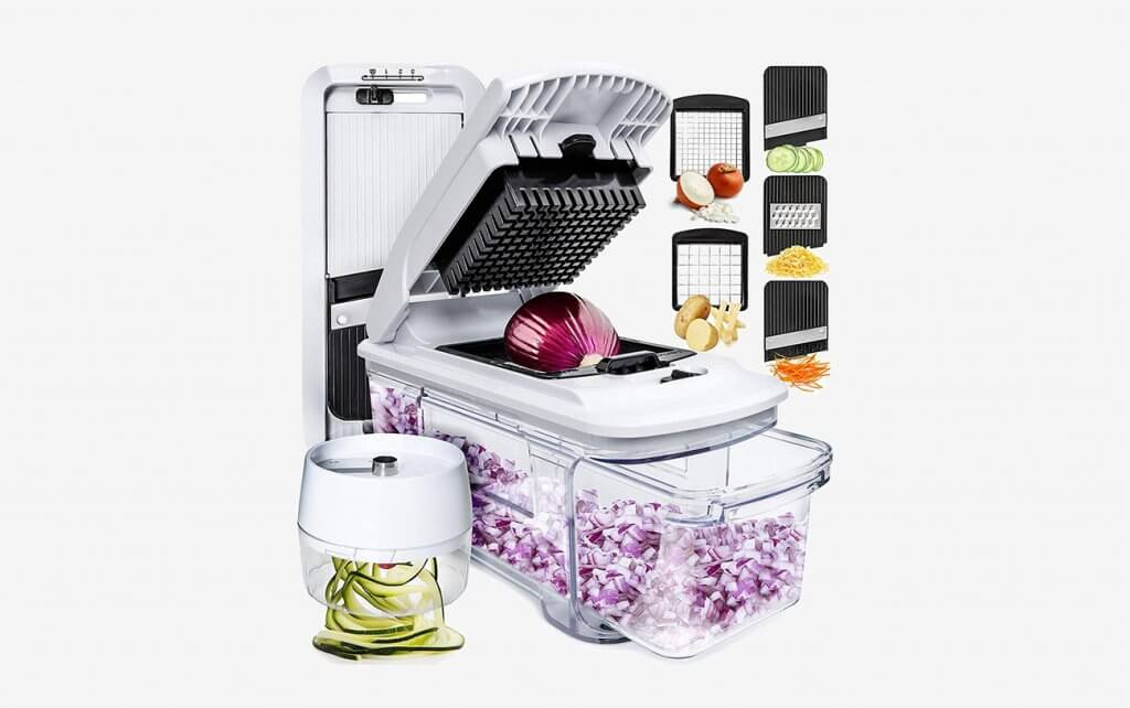 The Fullstar Mandoline Slicer Spiralizer And Vegetable Slicer