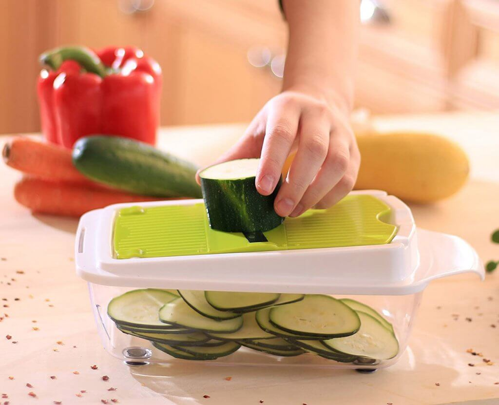 Zalik Vegetable Chopper Pro Mandoline Grater