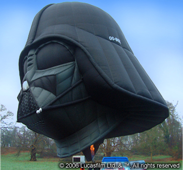 Darth Vadar Balloon