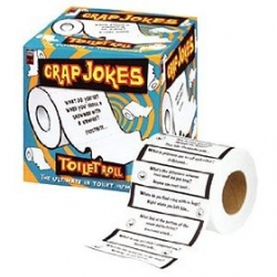Crap Jokes Toilet Paper Roll