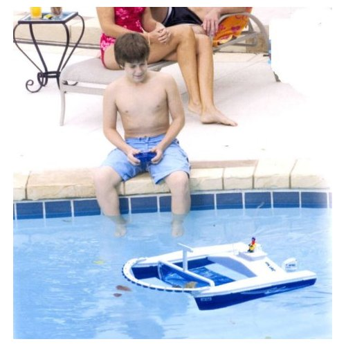 Remote Control Pool Skimmer