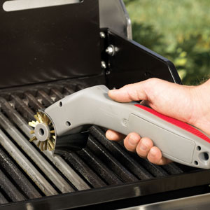 Motorized Grill Brush