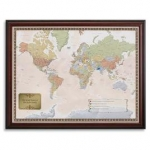 Personalized World Map