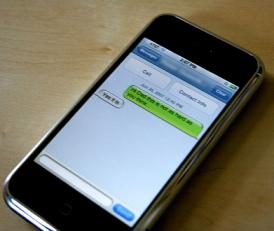 Texting phone