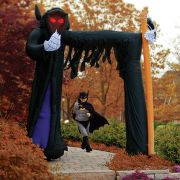 Inflatable 9-Foot Grim Reaper Archway.