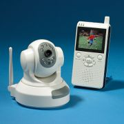 Wireless Remote-Controlled Pan And Tilt Surveillance Camera