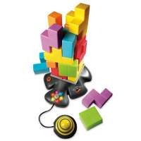 Toppling Tetracubes Game