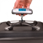 World's Smallest Luggage Scale